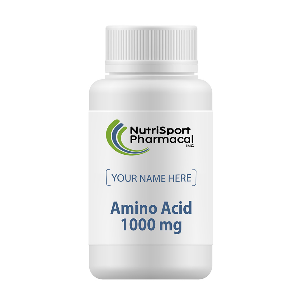 Amino Acid 1000 Mg – Amino Acid Supplements For Muscles, Skin, Bones And Overall Health.
