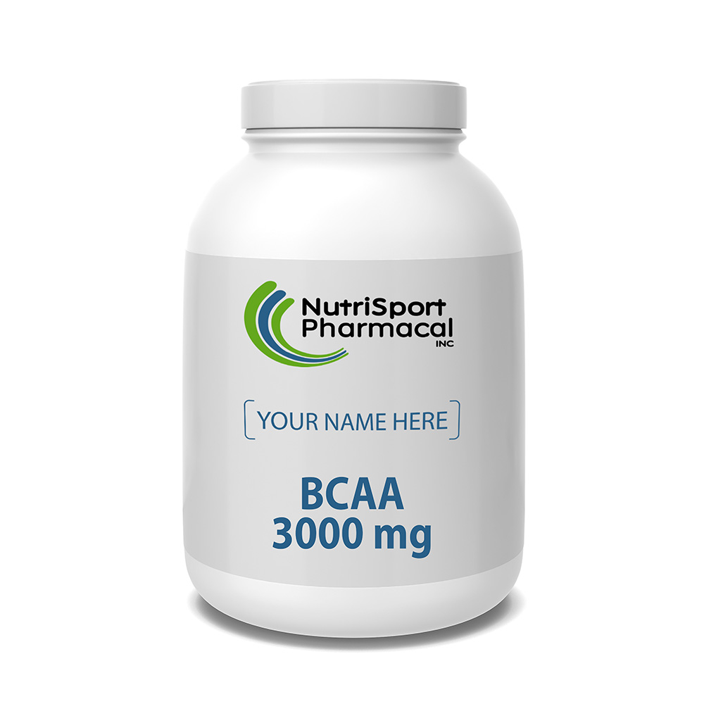BCAA 3000 MG - Best Amino Acids For Muscle Growth