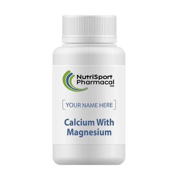 Calcium With Magnesium Mineral Supplements