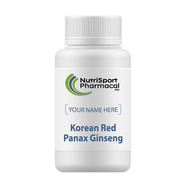 Korean Red Panax Ginseng Herbs Supplement