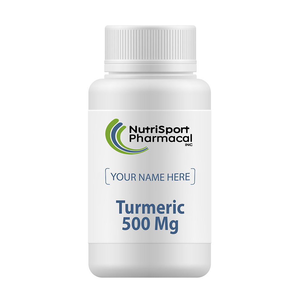 Turmeric 500 Mg Herbal Dietary Supplement