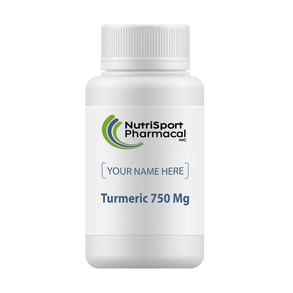 Turmeric 750 Mg Herbal Dietary Supplement