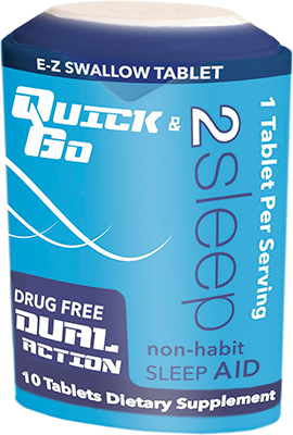 Quick & Go 2Sleep Non-Habit Sleep Aid